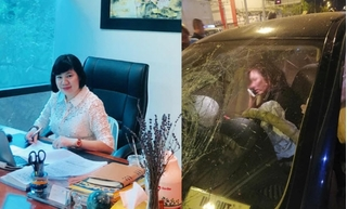 Sếp ngân hàng nói gì khi bị nhầm là nữ tài xế BMW gây tai nạn?