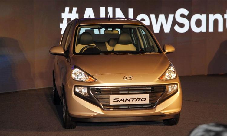 Ra mắt Hyundai Santro 2019 giá từ 123 triệu2