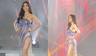 Bùi Phương Nga mặc dạ hội cực sexy tại bán kết Miss Grand International 2018