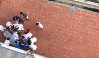 Hà Nội: Bệnh nhân nhảy từ tầng 6 xuống đất tử vong tại chỗ