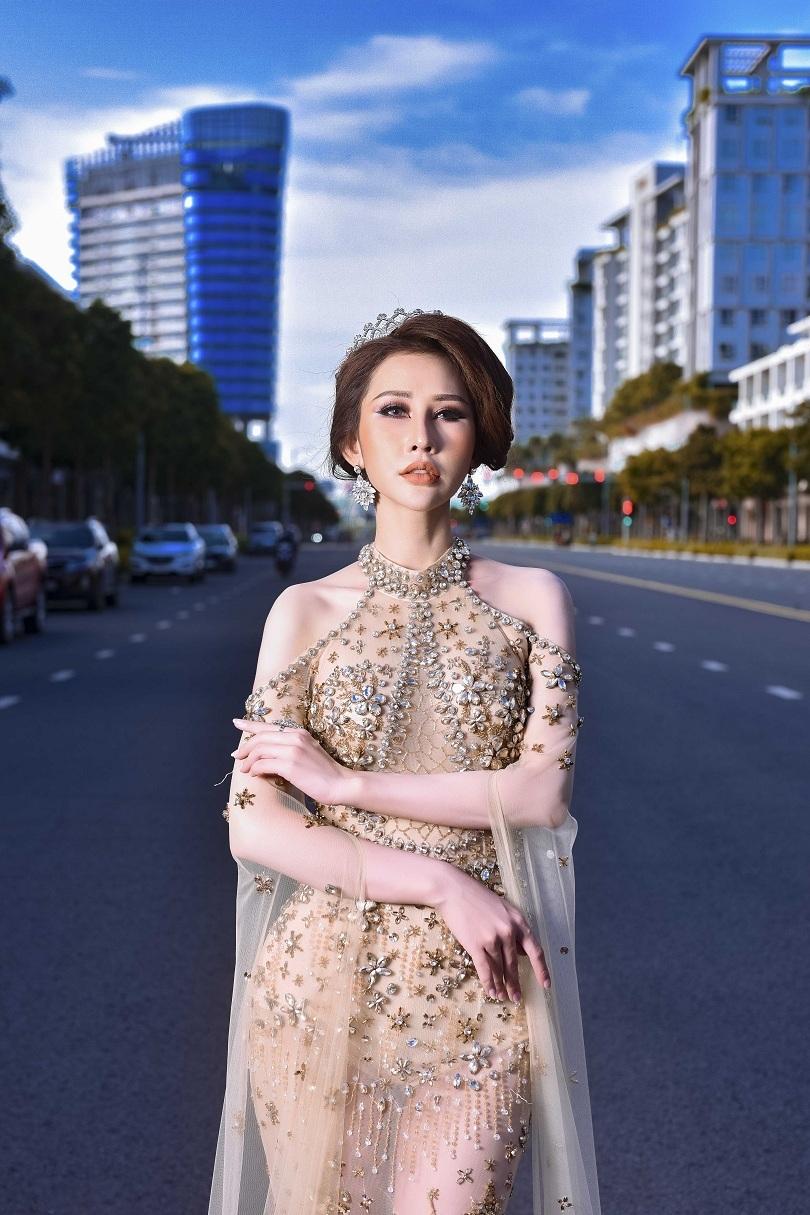 Hoa hậu Chi Nguyễn kiêu sa và duyên dáng trong bộ ảnh mới10