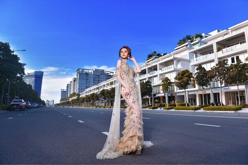 Hoa hậu Chi Nguyễn kiêu sa và duyên dáng trong bộ ảnh mới5