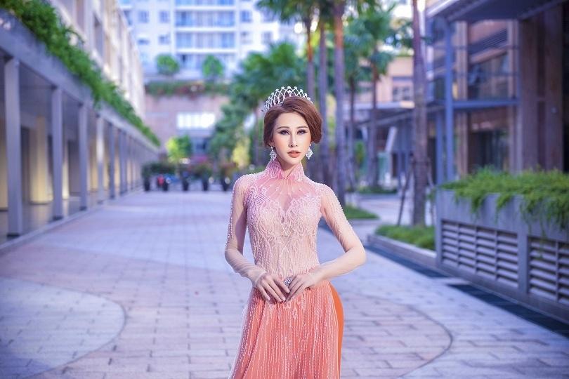 Hoa hậu Chi Nguyễn kiêu sa và duyên dáng trong bộ ảnh mới2