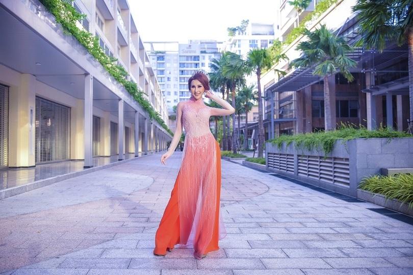 Hoa hậu Chi Nguyễn kiêu sa và duyên dáng trong bộ ảnh mới3
