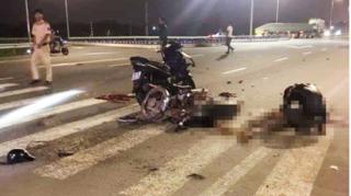 Hà Nam: Xe máy đấu đầu kinh hoàng, 2 người tử vong tại chỗ