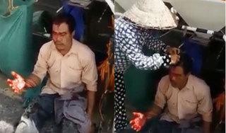 Người đàn ông nghi bị nhóm 'bảo kê' máy gặt đánh trọng thương trên cánh đồng