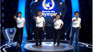 10X Nam Định ghi được 100 điểm Khởi động ở cuộc thi tuần Olympia