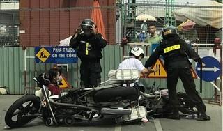 Hải Phòng: Bị yêu cầu dừng xe, thanh niên tông gãy chân một chiến sĩ cảnh sát