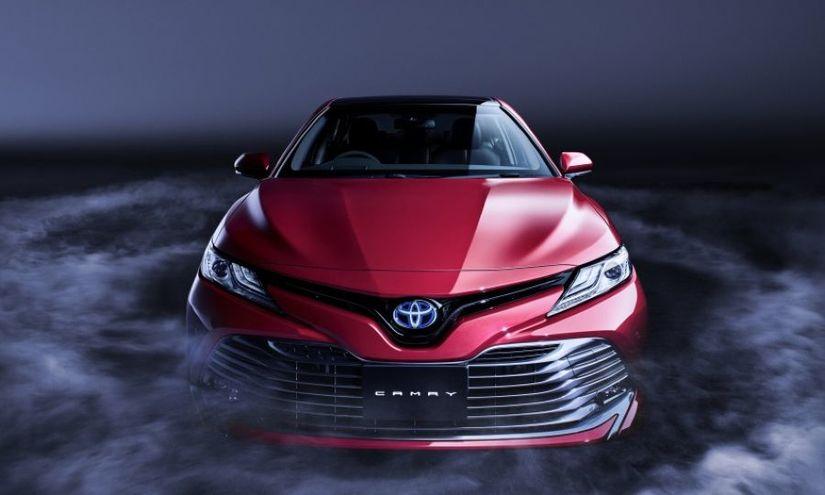 Lộ thông tin kỹ thuật mẫu xe Toyota Camry 2019