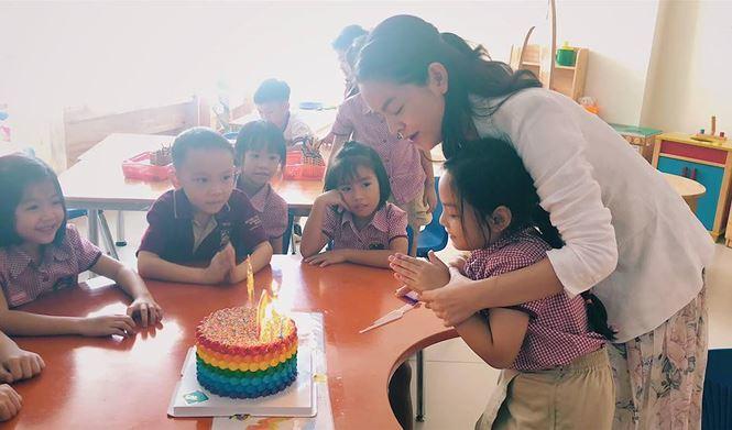 Phạm Quỳnh Anh-Quang Huy tái hợp tổ chức sinh nhật cho con