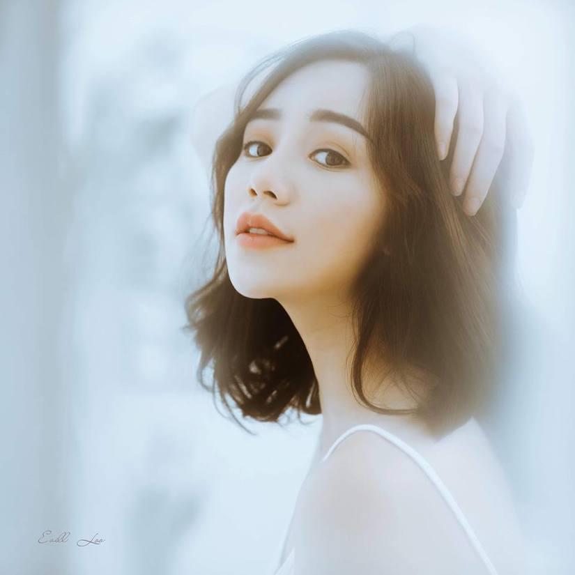 Diễn viên Quỳnh Kool buông lơi vai trần, khoe vẻ sexy3