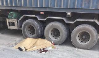 Nam thanh niên người nước ngoài tử vong dưới gầm xe container