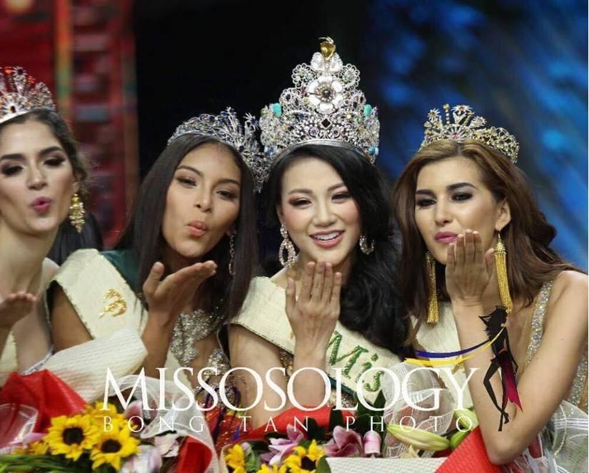 Vượt qua 87 người đẹp thế giới, Nguyễn Phương Khánh đăng quang Miss Earth 2018