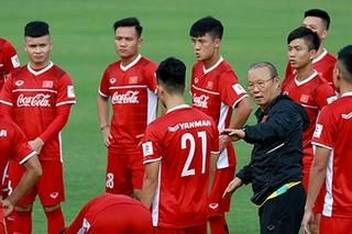 Các cầu thủ Việt Nam nhận món quà đặc biệt ở AFF Cup 2018
