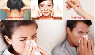 Bác sĩ Đông y hướng dẫn cách bấm huyệt phòng ngừa cảm cúm hiệu quả