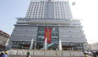 Nữ bệnh nhân nhảy lầu tự tử tại Bệnh viện Đa khoa Quốc tế Hải Phòng