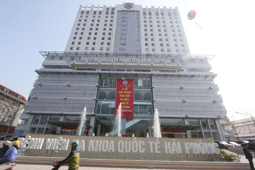 Nữ bệnh nhân nhảy lầu tự tử tại Bệnh viện Quốc tế Hải Phòng