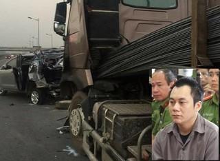 Chánh án TAND Tối cao lên tiếng vụ Innova đi lùi tông container trên cao tốc