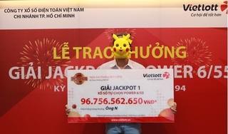 Đưa con đi học sớm, ông bố mua Vietlott và trúng gần 100 tỷ đồng