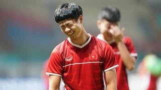 Tiền đạo Công Phượng mang số áo cực độc tại đội tuyển Việt Nam
