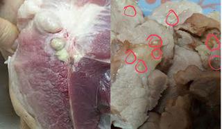 Hơn 100 người nhiễm sán ở Bình Phước, mách bạn mẹo hay chọn thịt lợn sạch