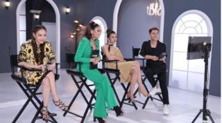 Võ Hoàng Yến đòi nhét chai trà sữa vào miệng thí sinh The Face 2018