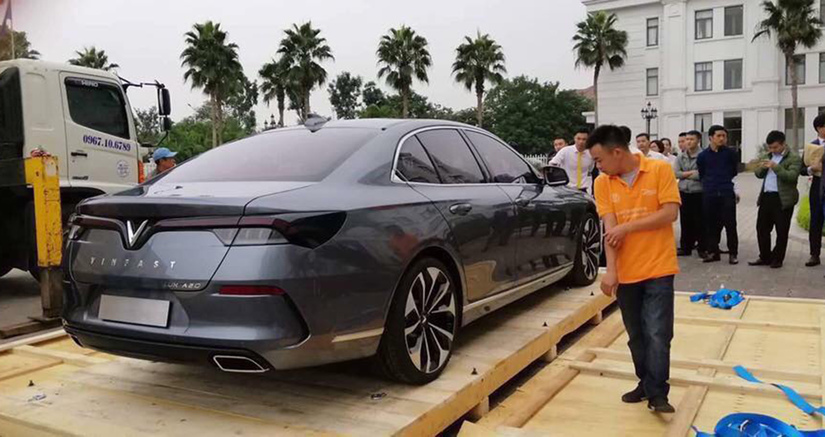 Xe ô tô VinFast đã có mặt Hà Nội, chờ ngày ra mắt thị trường Việt Nam