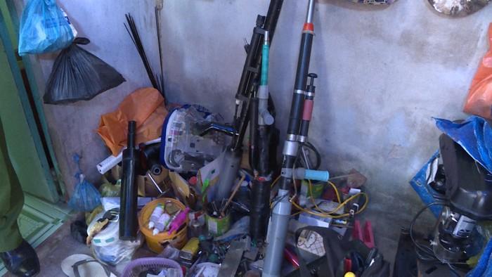 Công an phát hiện xưởng sản xuất súng tự chế