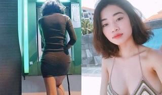 Loạt ảnh của cô gái xinh đẹp sau bức ảnh khoe body gợi cảm khi 'đứng rút tiền'