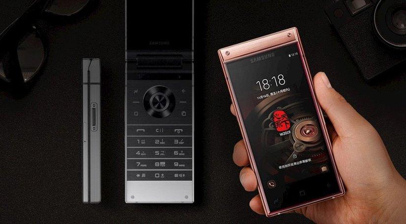 Samsung trình làng điện thoại vỏ sò cao cấp giá khủng2