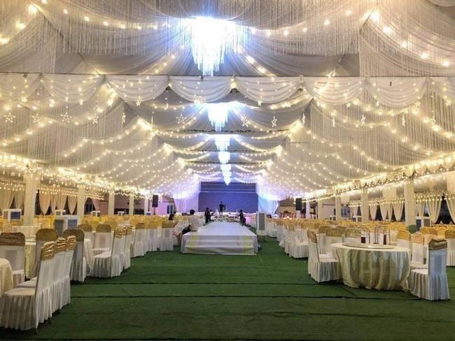 Đám cưới tiền tỉ ở Vĩnh Phúc: Cô dâu xinh, mời Ngọc Sơn về hát4