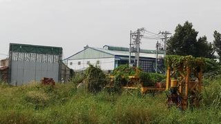 Dự án Green Mark: Rao bán nhà trên bãi đất trống