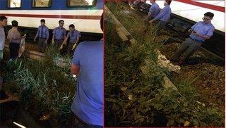 Cố băng qua đường ray, nam thanh niên bị tàu hoả tông tử vong