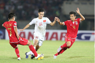 Bất ngờ với thành tích của tuyển Việt Nam và Myanmar tại AFF Cup