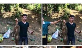 Tìm ra thanh niên giết khỉ dã man rồi đăng ảnh khoe trên Facebook