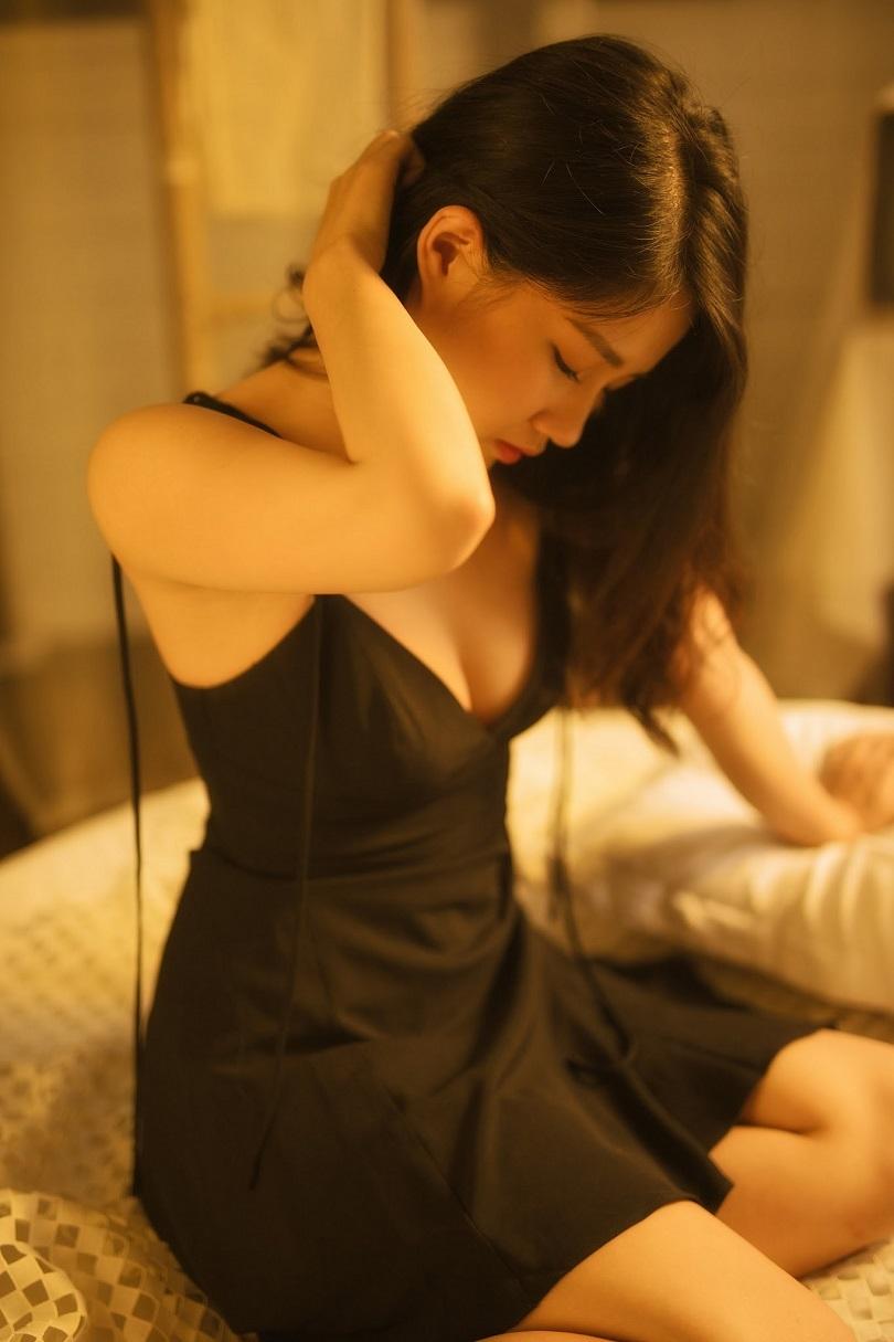 Diễn viên 9X Kiều Trinh gây thương nhớ với vẻ đẹp ngọt ngào và gợi cảm7