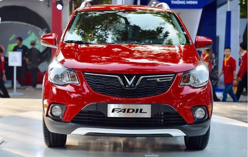 Vinfast Fadil giá 336 triệu đồng được trang bị công nghệ hiện đại