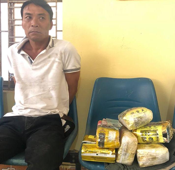 Tóm gọn gã đàn ông người Hà Tĩnh vận chuyển 6kg ma túy về Hải Phòng