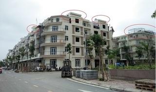 Dự án liền kề Gelexia Riverside 885 Tam Trinh tự ý thay đổi kết cấu, phá vỡ quy hoạch