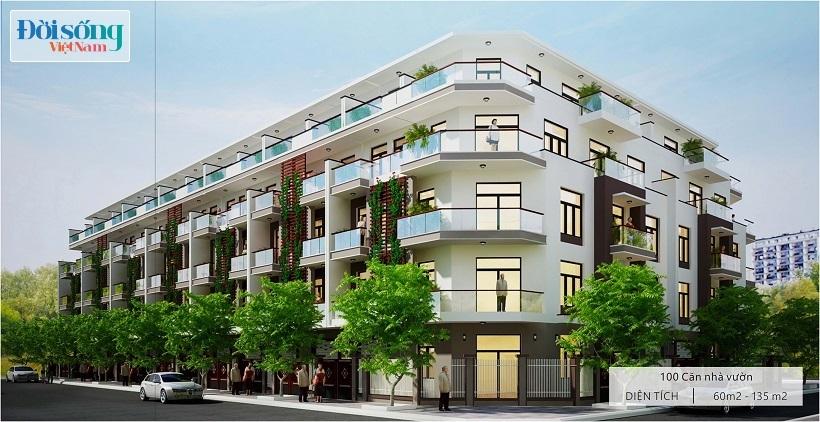 Dự án liền kề Gelexia Riverside 885 Tam Trinh