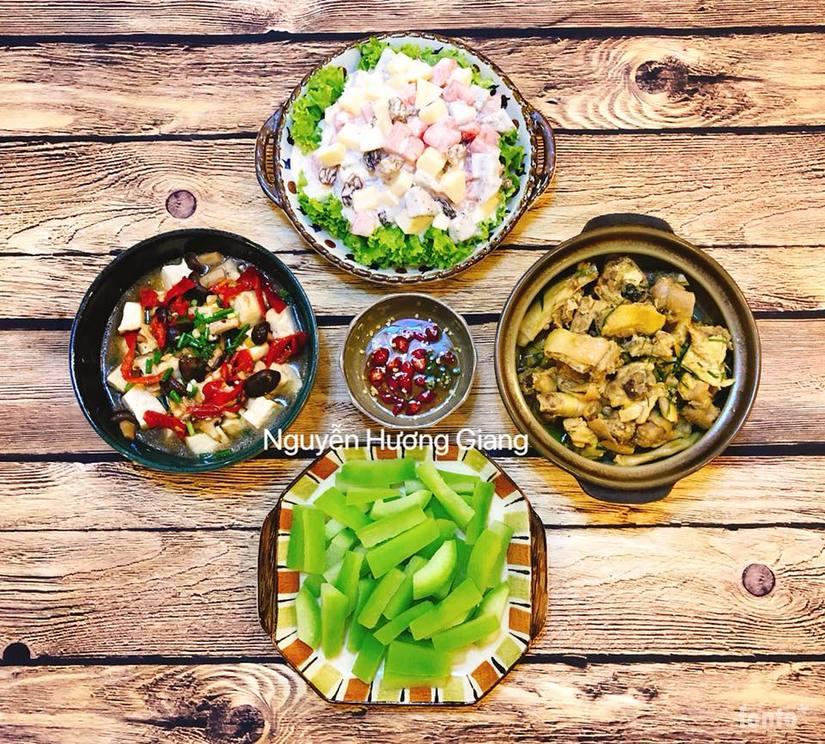 Bí quyết nấu ăn cực ngon của vợ đảm khiến ông xã chỉ thích ăn cơm nhà4