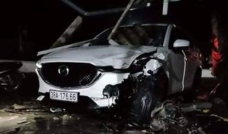 Phó phòng TN-MT huyện lái ô tô gây tai nạn kinh hoàng, 1 người tử vong