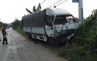 Một CSGT bị xe tải tông tử vong khi đang làm nhiệm vụ