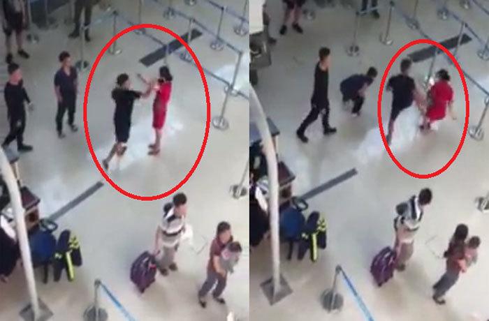Xử lý như nào 3 thanh niên đánh nữ nhân viên ở sân bay Thọ Xuân?