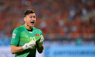 Thủ thành Đặng Văn Lâm nói gì trước trận đấu với Campuchia?