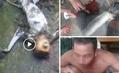 Danh tính 5 người giết khỉ ăn óc sống, phát trực tiếp lên Facebook
