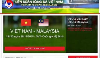10h sáng nay (28/11) bán vé xem bán kết lượt về Việt Nam và Philippines