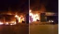 Hà Nội: Cháy xưởng ô tô sau tòa nhà Keang Nam lúc nửa đêm
