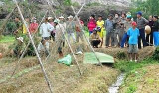 Bơm nước chống úng cho ruộng, hai vợ chồng bị điện giật tử vong thương tâm