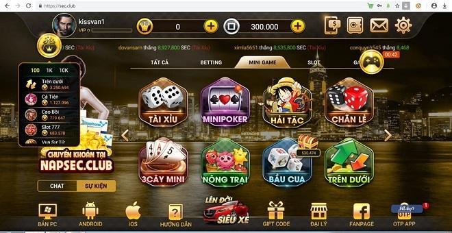 Hàng loạt game đánh bài online cho phép đổi tiền ảo thành tiền thật tràn lan tại Việt Nam với các trò chơi đa dạng.